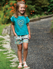 Frugi, Sophia Slub T-shirt, Jewel/Heart