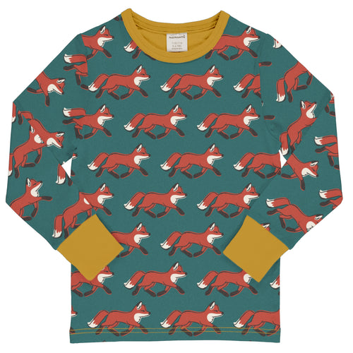 Maxomorra Top Long Sleeve Fox
