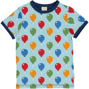 Maxomorra Top Short Sleeve - Balloon
