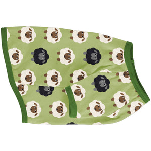 Maxomorra Top Short Sleeve Dog - Sheep