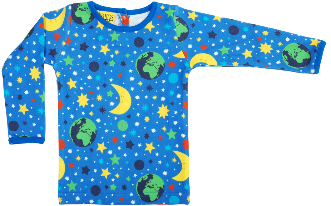 DUNS Sweden Top Long Sleeve - Mother Earth Blue *