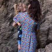 Coddi & Womple Coco Dress Rainbow Scales - NEW RELEASE!