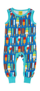 Duns  Dungaree Ice Cream Blue - The Thrifty Stork