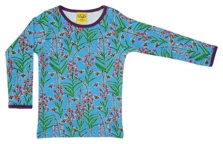Duns Long Sleeve Top Willowherb Blue - The Thrifty Stork