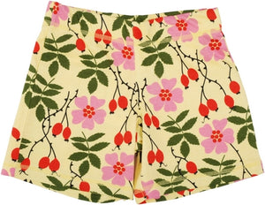 DUNS Sweden Short Pants - Rosehip Yellow