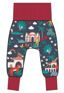 Frugi Parsnip Pants - Indigo India