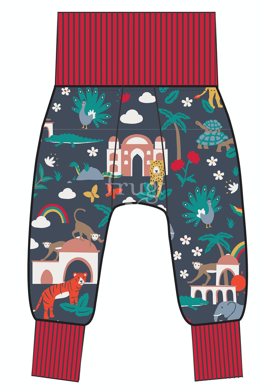 Frugi, Parsnip Pants,  Indigo India