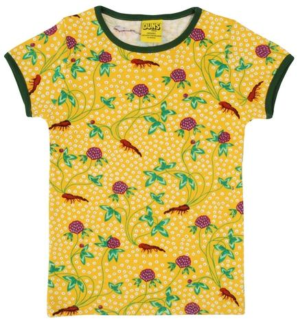Duns  Short Sleeve Top  Red Clover - The Thrifty Stork