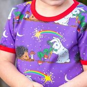 Coddi & Womple Top Short Sleeve - Thistle Moon