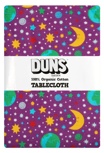 DUNS Sweden Tablecloth 220 x 140cm - Mother Earth Bright Violet