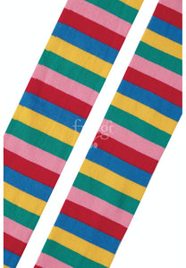 Frugi Tamsyn Tights - Rainbow Stripe