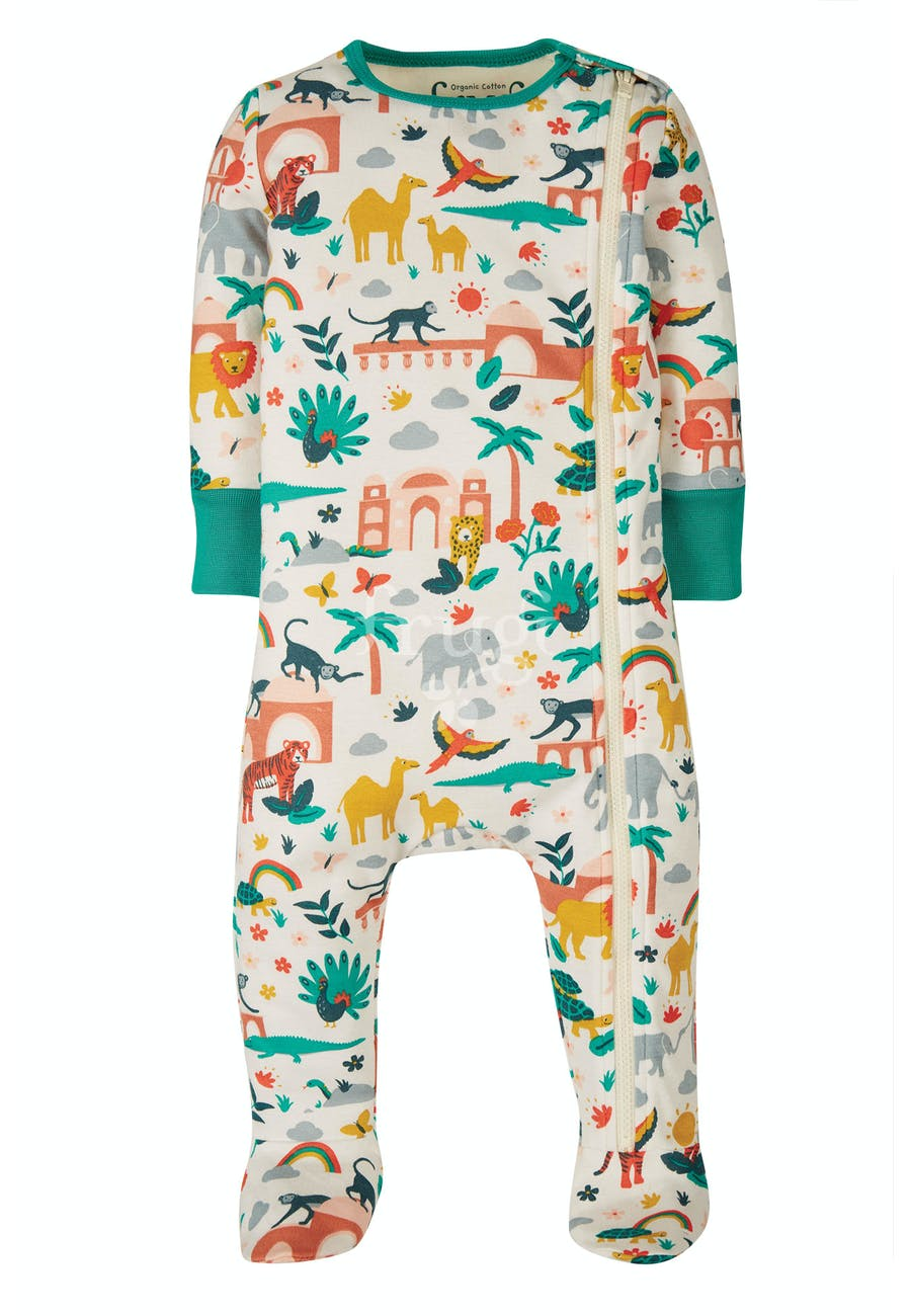 Frugi, Zip Up Babygrow,  India
