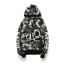 GONTHWID Camouflage Patch Hoodies Mens 2017 Autmn Designs Camo Printed Sleeve Pullover Sweatshirts Male Hip Hop Loose Streetwear