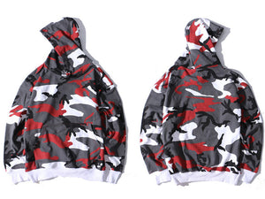 GONTHWID Camo Hoodies Men Hip Hop Camouflage Pullover Sweatshirts Male Fashion Casual Hoodies Streetwear Pink Red Purple Gray
