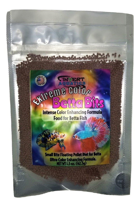 Extreme Color Betta Bits - Ultra-Color Enhancing Floating Pellets