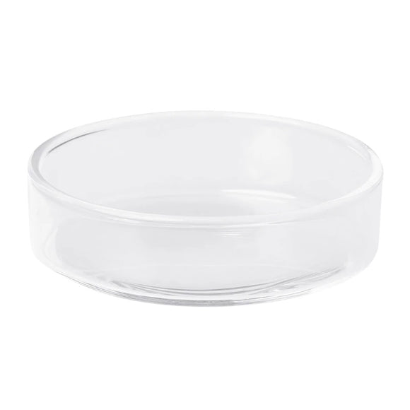 Glass Feeding Dish