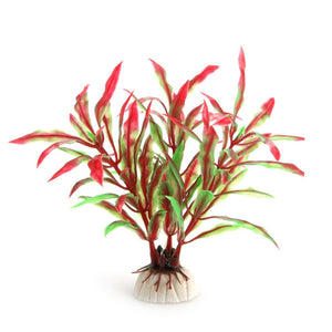 Artificial Red & Green Plant