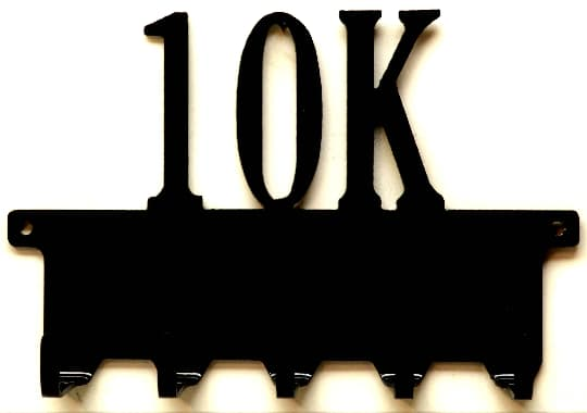 10K Medals Rack - Knob Creek Metal Arts