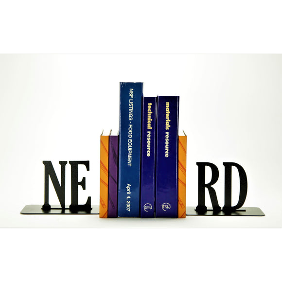 Nerd Bookends - Knob Creek Metal Arts
