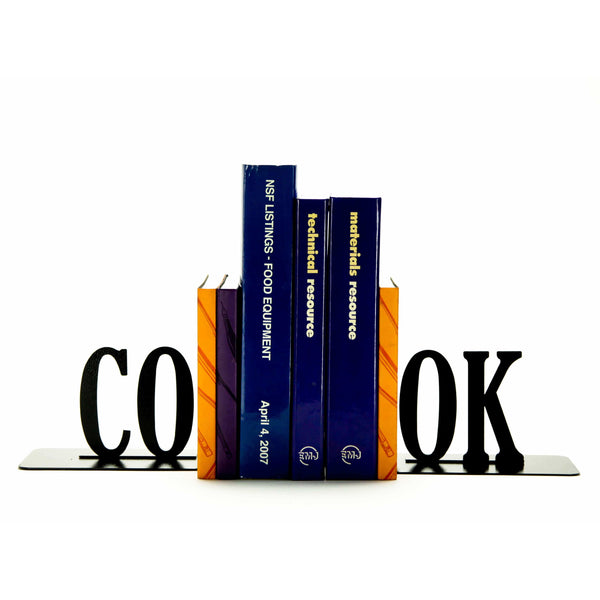 Cook Bookends - Knob Creek Metal Arts