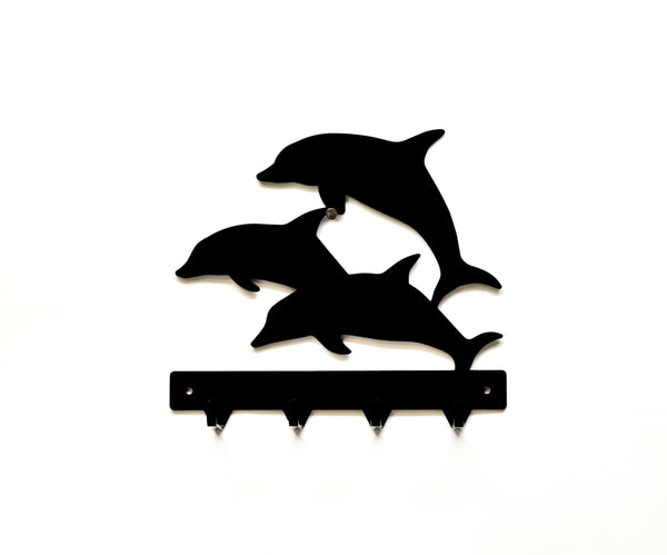 Dolphin Metal Art Key Rack - Knob Creek Metal Arts