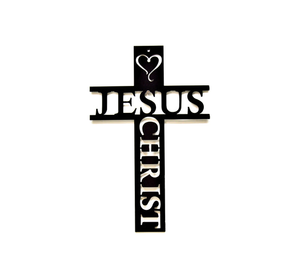 Jesus Christ Cross Wall Art - Knob Creek Metal Arts
