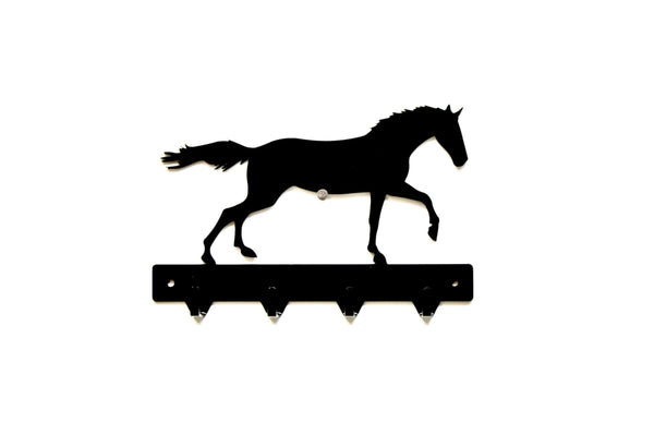 Running Horse Metal Key Rack - Knob Creek Metal Arts