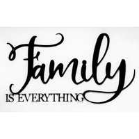Family Is Everything Wall Art - Knob Creek Metal Arts
