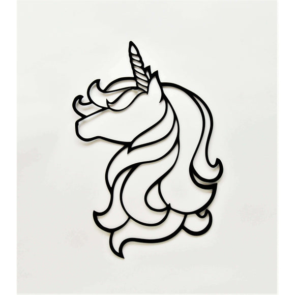 Unicorn Wall Art - Knob Creek Metal Arts