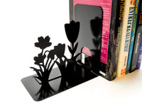 Garden Flower Bookends - Knob Creek Metal Arts