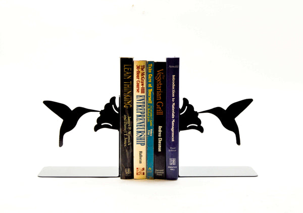 Hummingbird Bookends - Knob Creek Metal Arts
