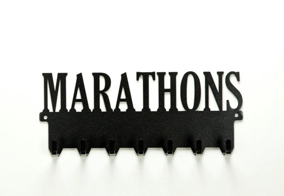 Marathons Medals Rack - Knob Creek Metal Arts