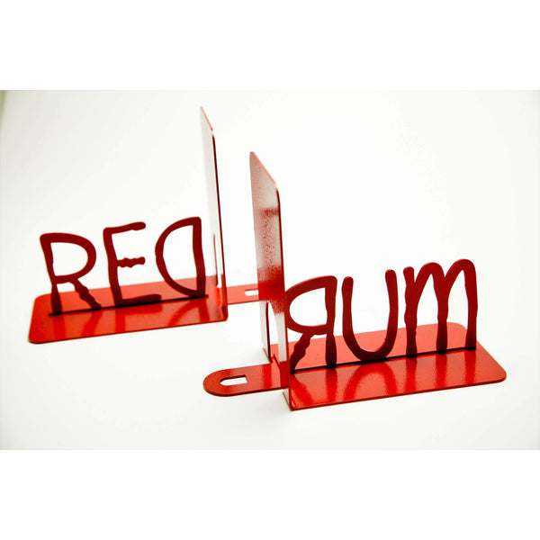 Redrum Bookends - Knob Creek Metal Arts