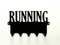 Running Medals Rack - Knob Creek Metal Arts