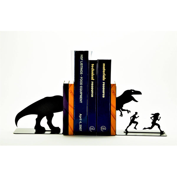 T-Rex Attack Bookends - Knob Creek Metal Arts