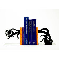 Tentacle Pirate Ship Bookends - Knob Creek Metal Arts