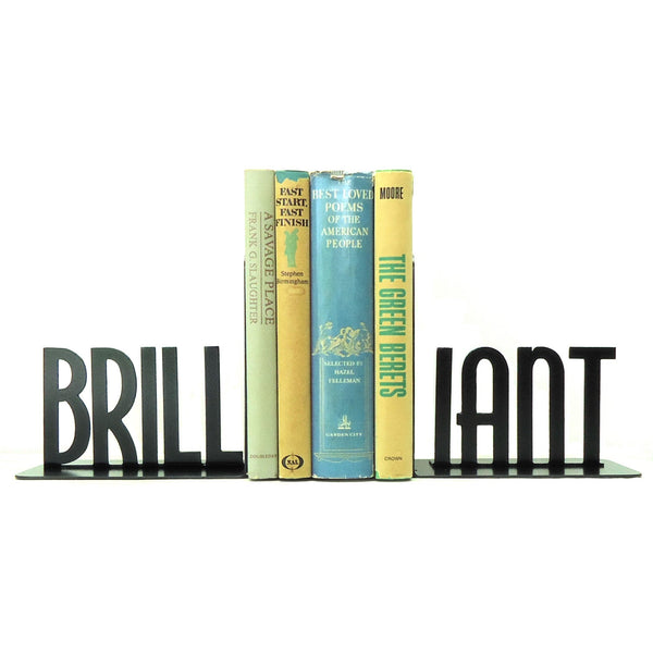 Brilliant Bookends - Knob Creek Metal Arts