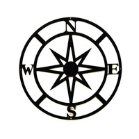 Compass Wall Art - Knob Creek Metal Arts