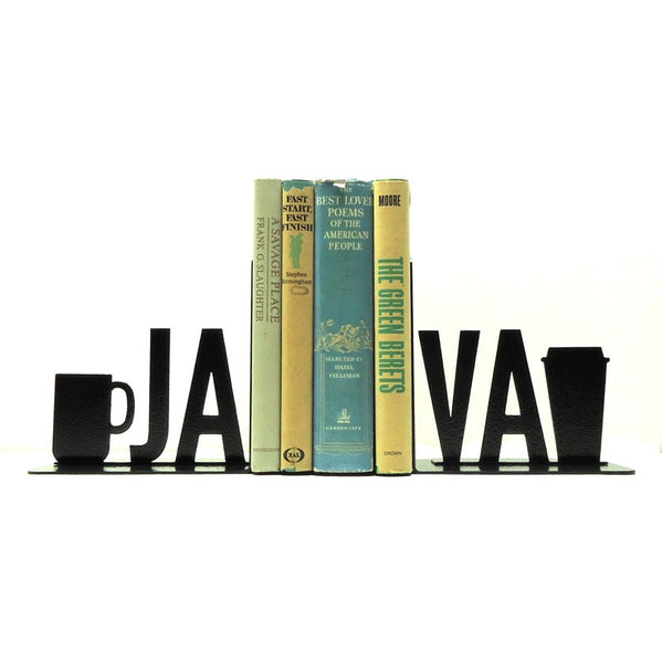 Java Metal Art Bookends - Knob Creek Metal Arts