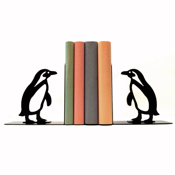 Penguin Bookends - Knob Creek Metal Arts