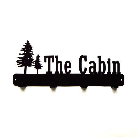 The Cabin Coat Rack - Knob Creek Metal Arts