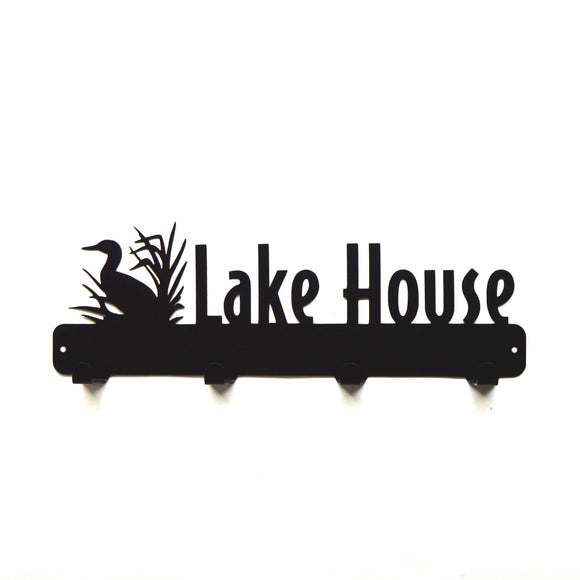 Lake House Coat Rack - Knob Creek Metal Arts