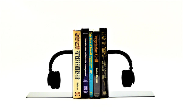 Headphone Bookends - Knob Creek Metal Arts