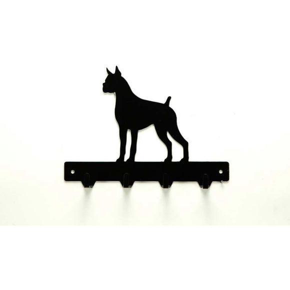 Boxer Leash Rack - Knob Creek Metal Arts