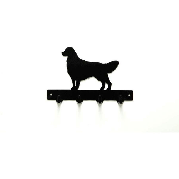 Golden Retriever Leash Rack - Knob Creek Metal Arts