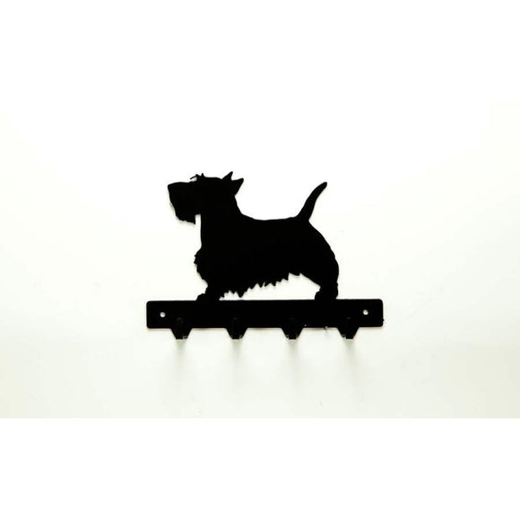 Scottish Terrier Leash Rack - Knob Creek Metal Arts