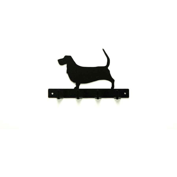 Basset Hound Leash Rack - Knob Creek Metal Arts