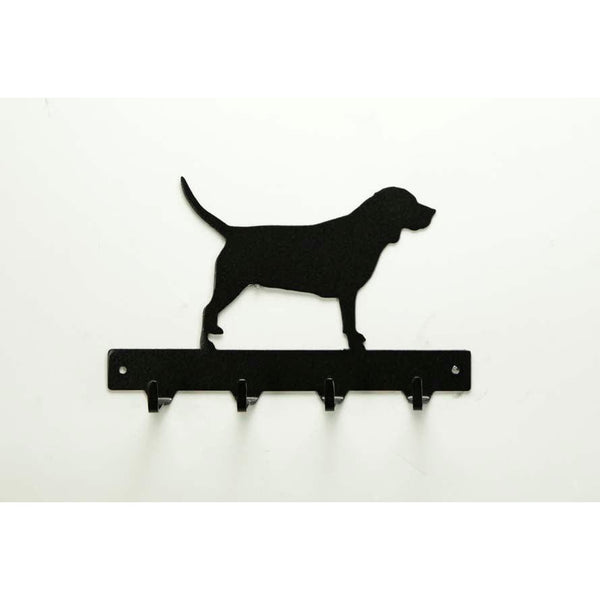 Beagle Leash Rack - Knob Creek Metal Arts