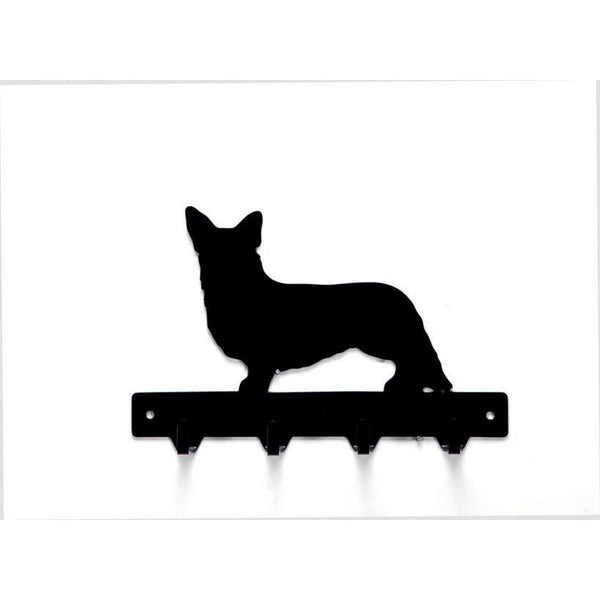 Corgi Leash Rack - Knob Creek Metal Arts