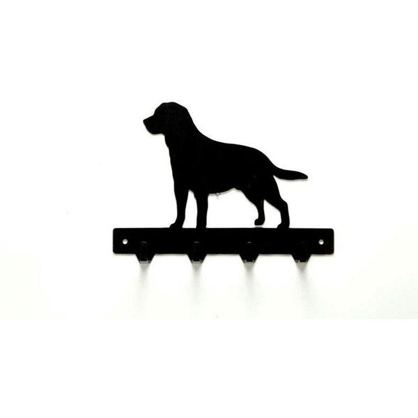 Labrador Retriever Leash Rack - Knob Creek Metal Arts